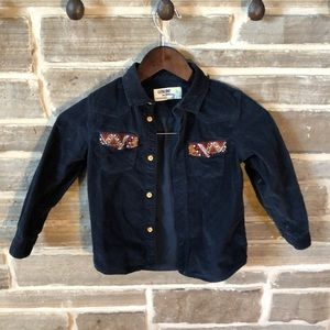 Oshkosh Button Down Corduroy Shirt